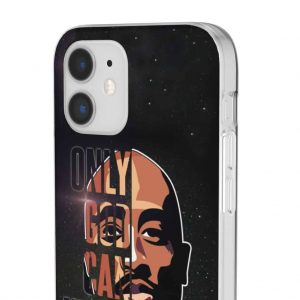 2Pac Only God Can Judge Me Galaxy Art Cool iPhone 12 Case