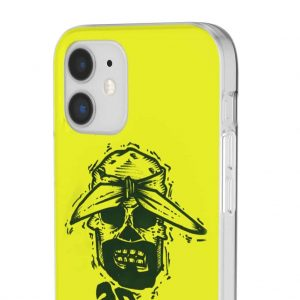2Pac Is Alive All Eyez On Me Skull Art Yellow iPhone 12 Case