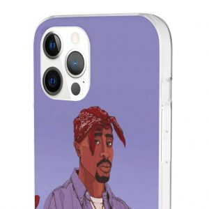 Hip-Hop Rapper 2pac Makaveli Cross Hand Awesome iPhone 12 Case