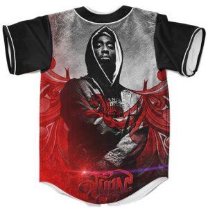 Tribute to The Legendary Gangsta Rapper Tupac Baseball Jersey