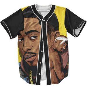Tupac Amaru Makaveli Shakur MC New York Dope Baseball Jersey
