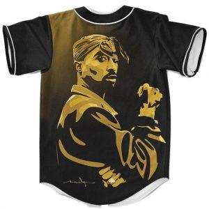Tupac Amaru Shakur Signature Legend Dope Hip Hop Baseball Jersey