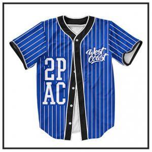 Tupac Shakur Baseball Jerseys