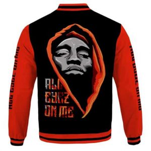 All Eyez On Me 2Pac Amaru Shakur Dope Varsity Jacket