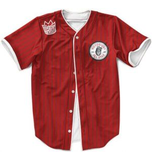 The Notorious BIG All Stars Pinstripe Amazing MLB Baseball Jersey