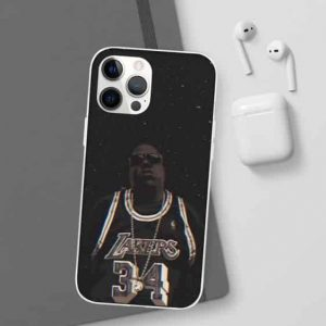 Biggie Lakers 34 Jersey Sky's The Limit iPhone 12 Case