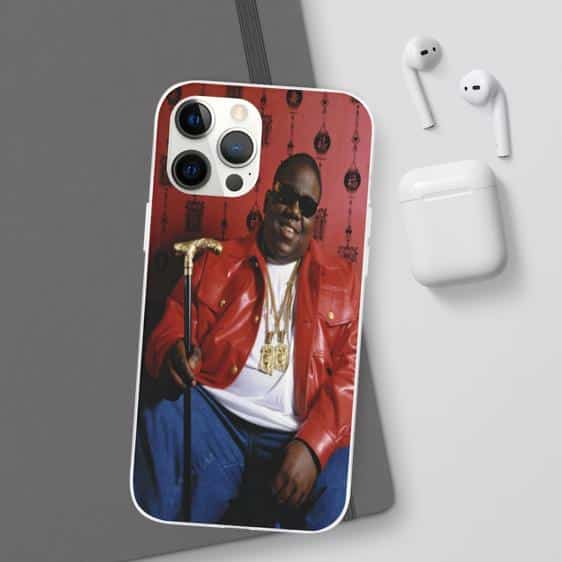 Biggie Smalls Happy Vibe Holding His Cane iPhone 12 Cover