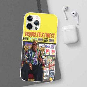 Biggie's Crown And Cane Brooklyn's Finest iPhone 12 Cover