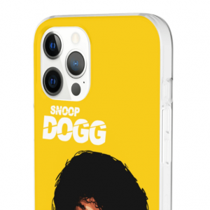 Dope Afro Snoop Dogg Portrait Artwork Yellow iPhone 12 Cover