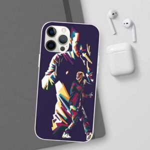 Double Abstract Silhouette Eminem iPhone 12 Fitted Case