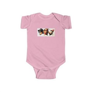 Eazy-E Tupac & Biggie Monsters Under The Bed Cover Baby Onesie