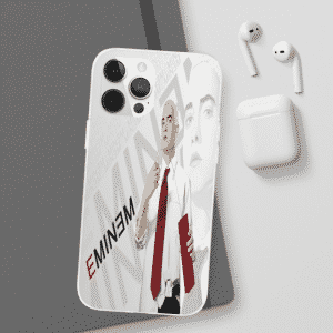 Eminem Armed with Bomb And Gun iPhone 12 Bumper Cover