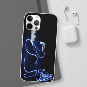 Eminem Pull The Trigger Midnight Blue iPhone 12 Cover
