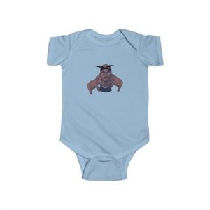Famous West Coast Rapper 2Pac Art Baby Toddler Onesie