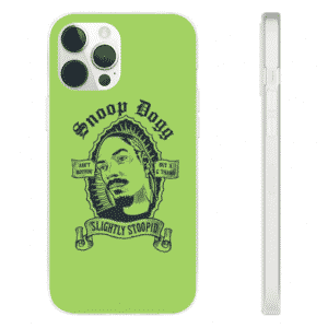 Slightly Stoopid Snoop Dogg Art Lime Green iPhone 12 Cover