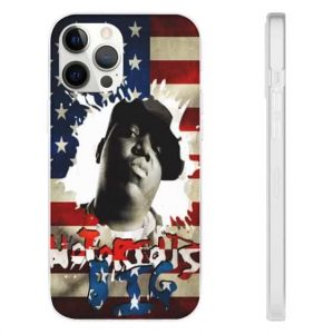 Notorious Big American Flag Awesome iPhone 12 Case