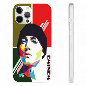 Simple Geometric Art Eminem Dope iPhone 12 Fitted Cover
