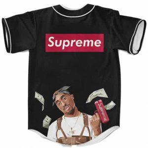 Supreme Inspired Hype Beast Tupac Shakur Dope Baseball Jersey