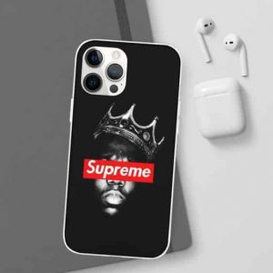 Supreme The Notorious B.I.G. Dope Black iPhone 12 Case