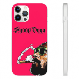The Boss Dogg Snoop D-O-double-G Smoking Pink iPhone 12 Case