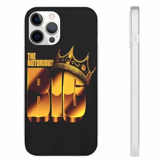 The Notorious B.I.G. Crown Golden Logo iPhone 12 Case