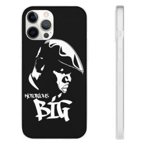 Tribute To Gangsta Rapper Notorious B.I.G iPhone 12 Cover