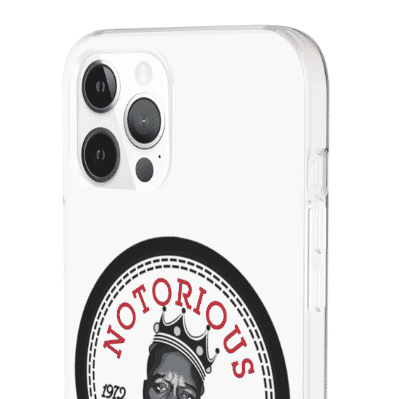 Tribute To Notorious Big All-Star Logo iPhone 12 Fitted Case