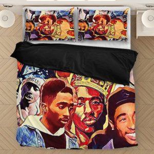 Tupac Amaru Shakur Wonderful Picture Collage Cool Bedding Set