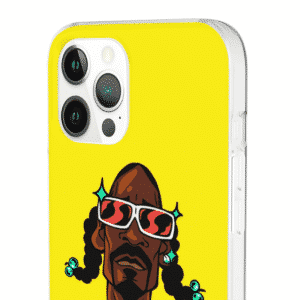 Awesome Snoop Dogg Caricature Yellow iPhone 12 Bumper Case