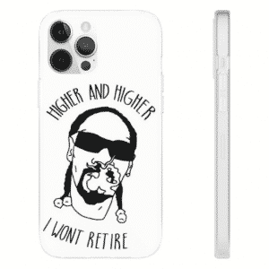Higher And Higher Snoop Dogg Minimalist White iPhone 12 Case