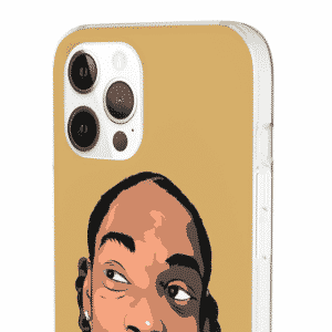 Westcoast Rapper Snoop Doggy Dogg Brown iPhone 12 Cover