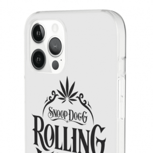Snoop Doggy Dogg Rolling Words Minimalistic iPhone 12 Cover