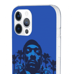 LBC East Side Crips Snoop Dogg Blue iPhone 12 Fitted Case
