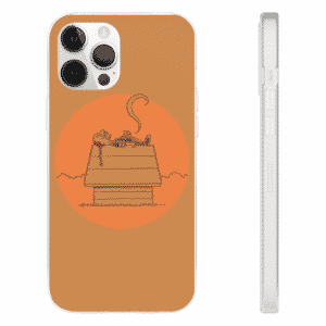 Snoop Dogg Awesome Snoopy Parody Brown iPhone 12 Case