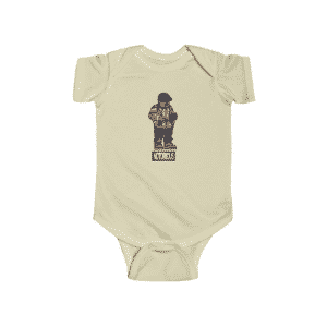 The Notorious BIG Counting Money Cartoon Dope Infant Onesie