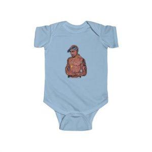 West Coast Hip Hop Rapper Makaveli Baby Toddler Bodysuit